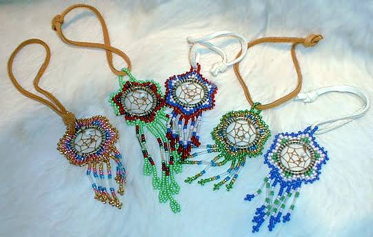 Native American Style Indian Drums Rattles Flutes Bags Medicine Simple Native American Beaded Dream Catchers